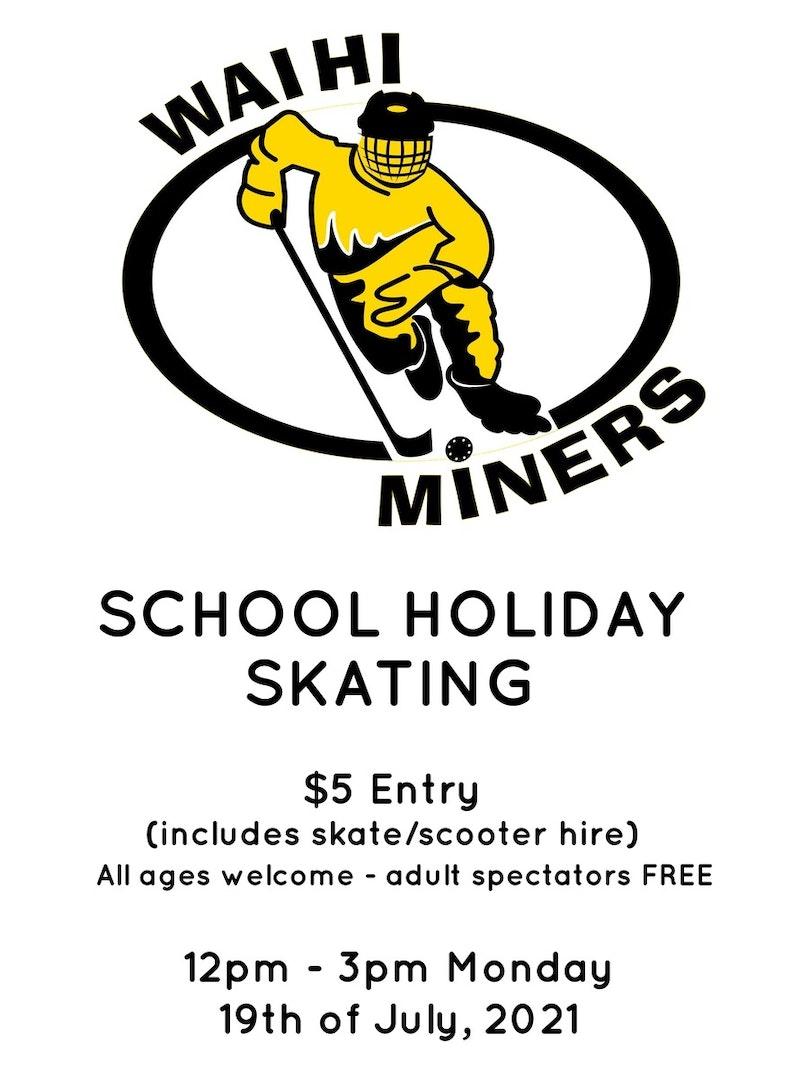 Miners Hockey School Holiday activities