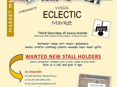 Waihi Eclectic Market