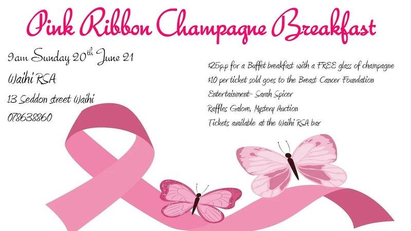Waihi RSA Pink Ribbon Breakfast