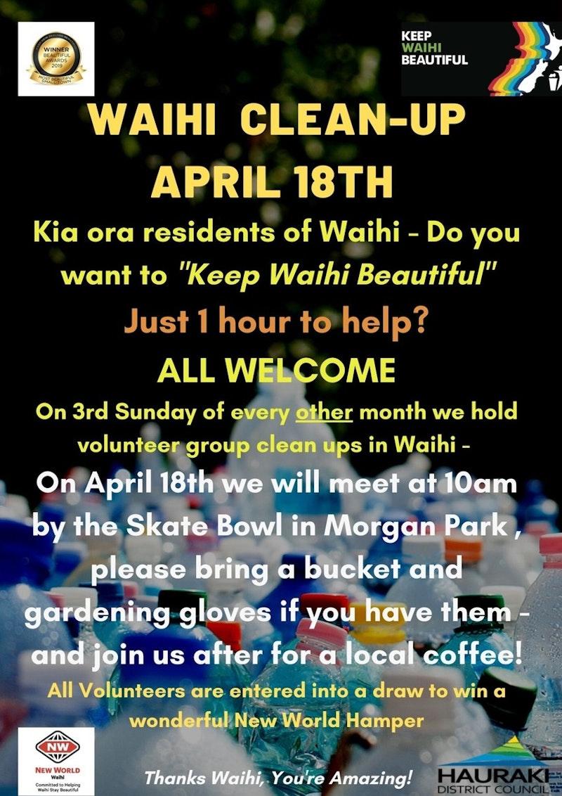Waihi Clean Up