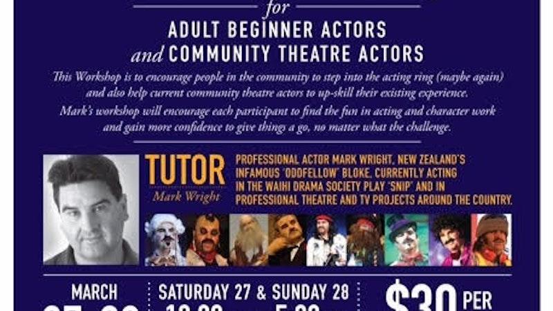 Acting weekend workshop
