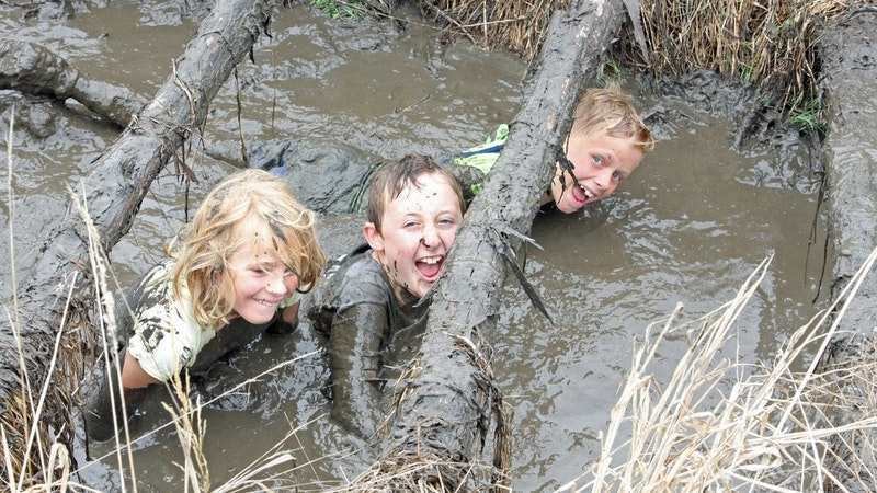 Waihi Scout Group's Mudslide and Fun Day